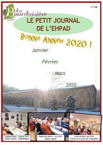 Petit Journal – Janvier Février Mars 2020