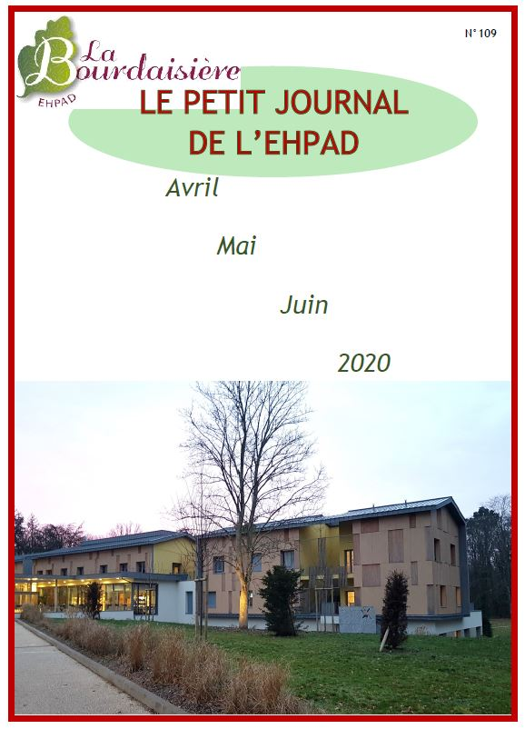 Petit Journal – avril mai juin 2020