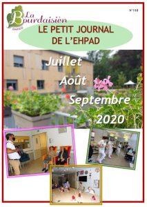 Petit Journal – Juillet Aout Septembre